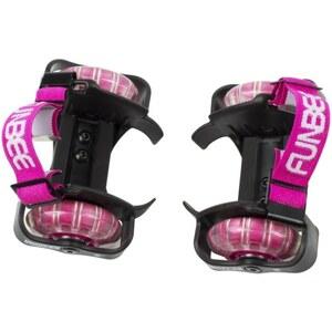Funbee - Fersenroller Flashing Wheels, pink