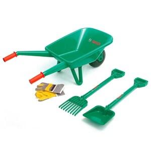 BOSCH - Schubkarre mit Werkzeug-Set, 4-tlg.