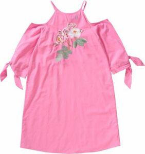 Kinder Kleid mit Cut-Offs und Stickereien Gr. 140 Mädchen Kinder