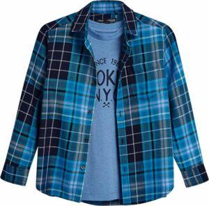 Set Kinder Langarmhemd + T-Shirt Gr. 170 Jungen Kinder