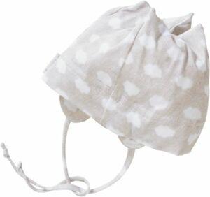 Baby Topfmütze zum Binden mit UV-Schutz 50+ Gr. 45