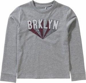 Boxy Sweatshirt mit Pailletten Gr. 164 Mädchen Kinder