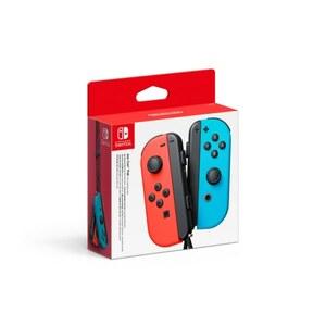 Nintendo - Switch: Joy-Con Controller 2er Set (neon rot/ neon blau)