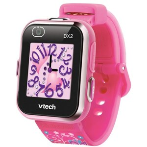 VTech - Kidizoom Smart Watch DX2, pink mit Blumenmuster