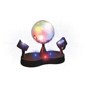 Disco-Lampe mit 2 LED Leuchten