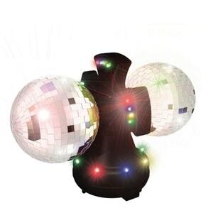 Disco Leuchte mit 2 Kugeln