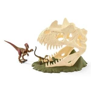 Schleich - 42348 Große Schädelfalle mit Velociraptor