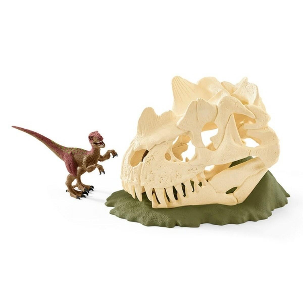 Bild 2 von Schleich - 42348 Große Schädelfalle mit Velociraptor