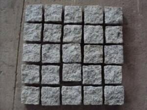 TrendLine Pflasternetz Granit ,  grau, 50 x 50 x 3,5 cm