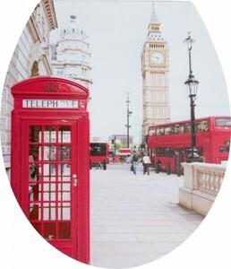 Primaster WC-Sitz London Calling ,  mit Absenkautomatik