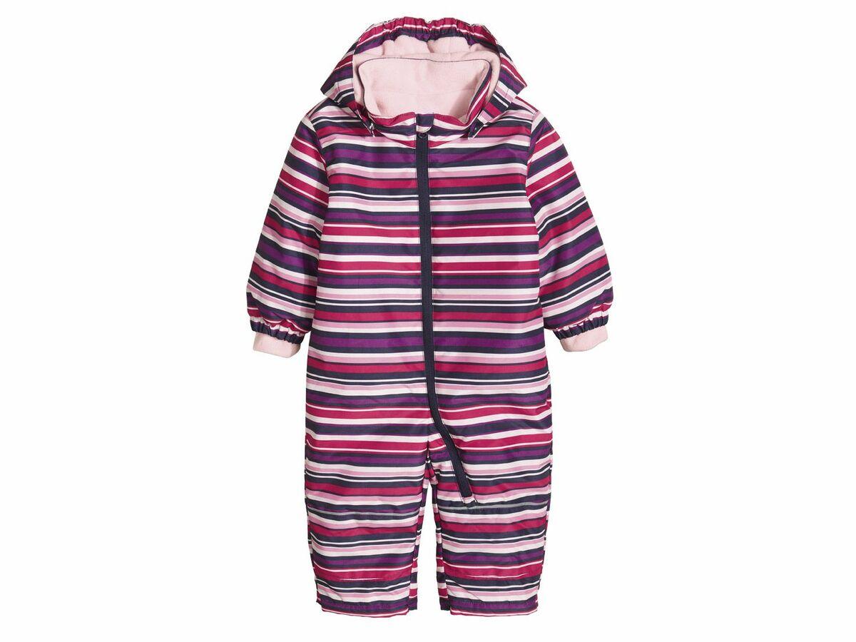 Bild 1 von LUPILU® Baby Kleinkinder Mädchen Schneeoverall