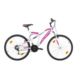 Actimover - 26 Zoll Mountainbike Flamingo, weiß/lila