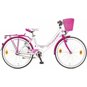 Baxx - 24 Zoll Citybike Kira BFF, weiß/rosa