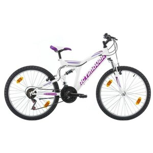 Actimover - 24 Zoll Mountainbike Flamingo, weiß/lila