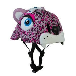 Crazy Safety - Fahrradhelm Pink Leopard, S