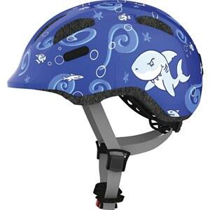 ABUS - Fahrradhelm Smiley 2.0, Blue Sharky, Größe S