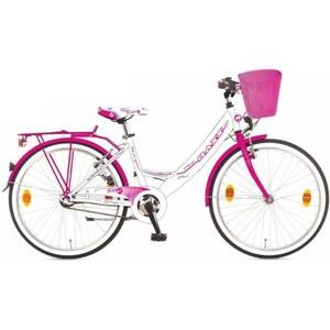 Baxx - 26 Zoll Citybike Kira BFF, weiß/rosa