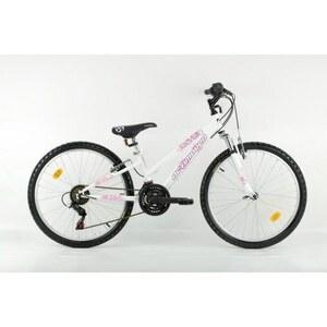 Actimover - 24 Zoll Mountainbike Stylin, weiß/rosa