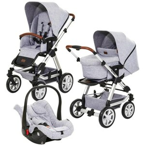 ABC Design - Travelsystem Tereno 4 Air All in One, Graphite Grey