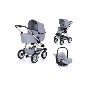 ABC Design - Travelsystem Viper 4 All in One, Graphite Grey