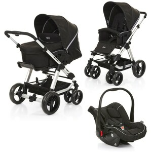 ABC Design - Travelsystem Turbo 6 All in One, Woven Grey (Design 2018)