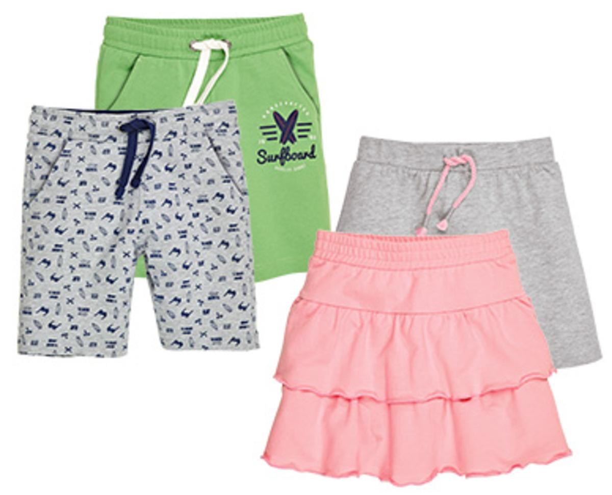 Bild 1 von alive®  2 Kinder-/Kleinkinder-Shorts oder -Röcke