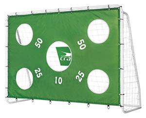 crane®  Fußballtor mit Torwand und Netz