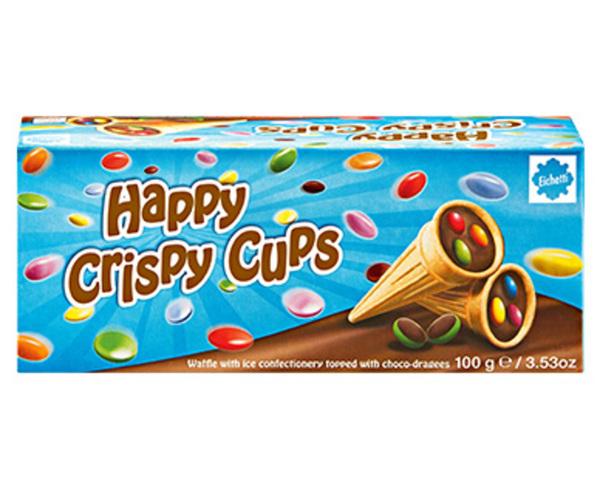 Eichetti Crispy Cups oder Happy Crispy Cups