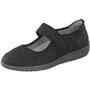 Inspired Shoes Spangenballerina Damen schwarz