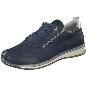 Inspired Shoes Schnürer Damen blau