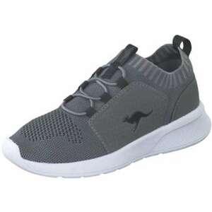 KangaROOS KF Cuff Sneaker Mädchen|Jungen grau