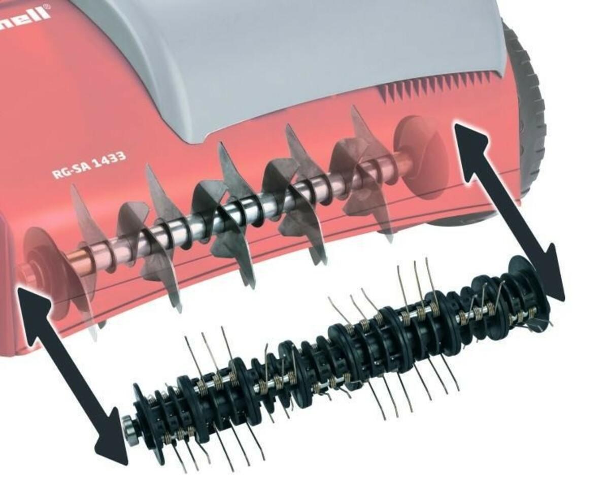 Bild 3 von Einhell Elektro-Vertikutierer/Rasenlüfter RG-SA 1433 | B-Ware - Verpackung beschädigt