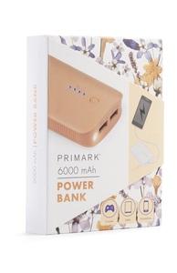 Powerbank, 6000 mAh