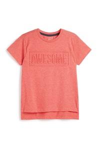 T-Shirt mit Slogan (kleine Jungen)