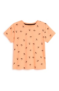 T-Shirt mit Palmenmuster (kleine Jungen)
