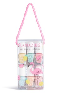 """Flamingo"" Nagellack-Set, 12er-Pack"