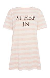Nachthemd mit Slogan