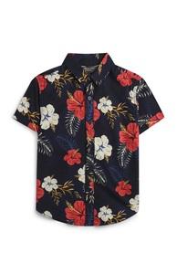 Hemd mit Blumenmuster (kleine Jungen)