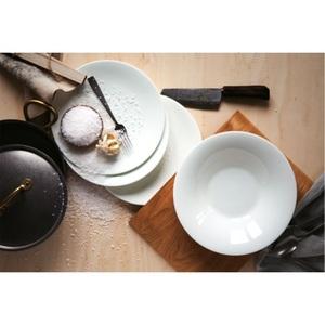 HUTSCHENREUTHER Tafelservice NORA 12 teilig Bone China Porzellan Weiß