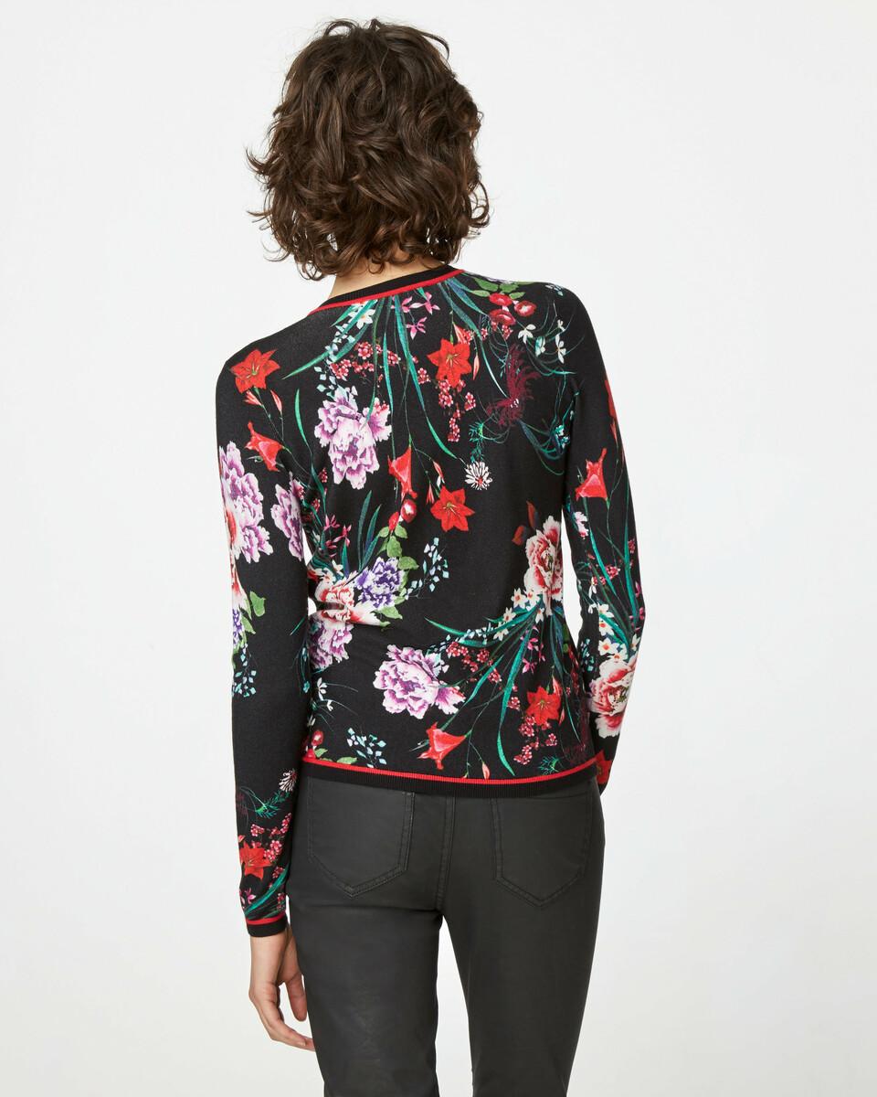 Bild 4 von Cardigan mit Blumendruck