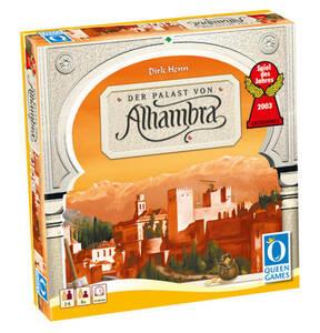 """Queen Games             Gesellschaftsspiel """"Alhambra - Spiel des Jahres 2003"""""""