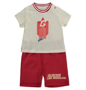 GUESS             T-Shirt & Hose, 2-tlg. Set, kurz, Print, für Babys