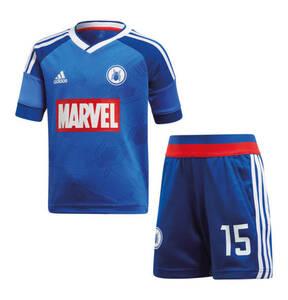 """adidas             T-Shirt und Shorts """"Spider Man Football Set"""", für Jungen"""