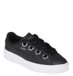 PUMA             Sneaker, Metallic-Details, Plateau, Glattleder