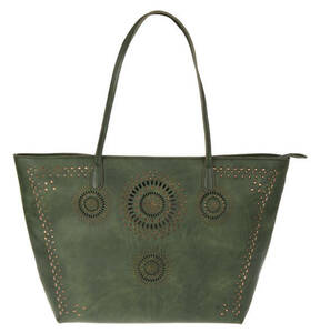 "Desigual             Damen Shopper ""Beautiful Dreams"", Stanzmuster, Nietendecor"