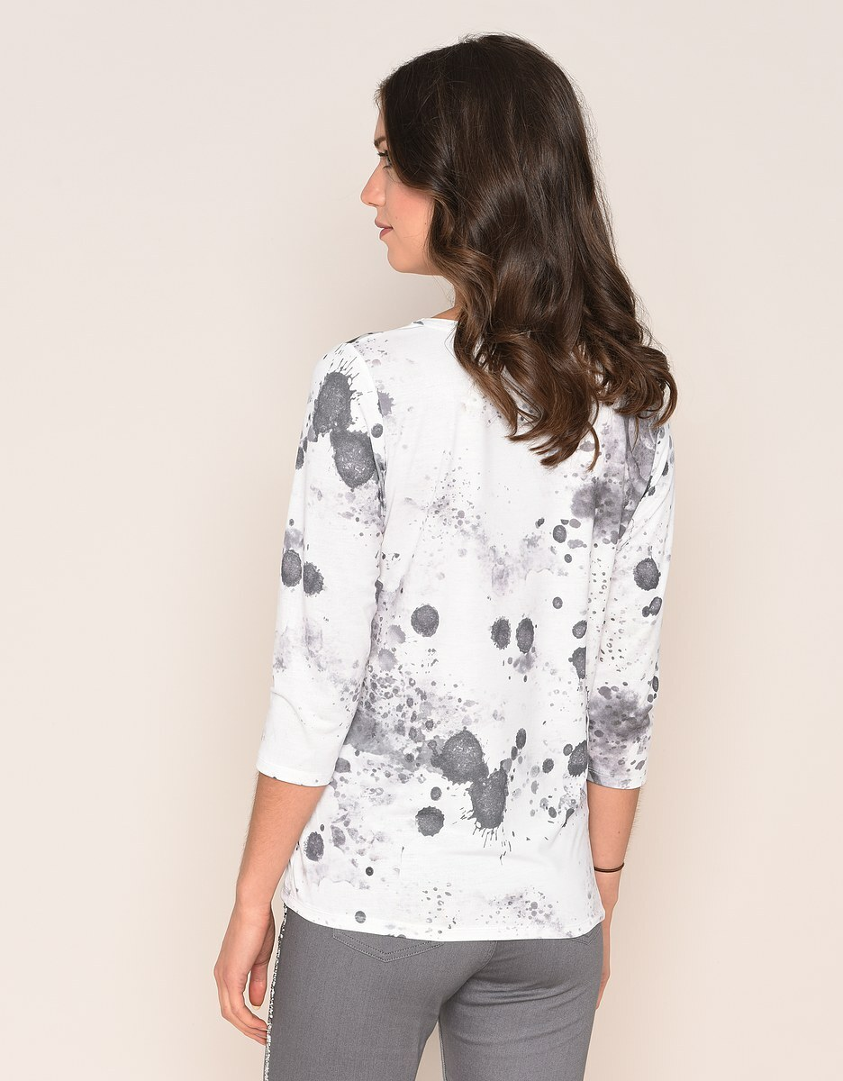 Bild 3 von Viventy - Romantisches Shirt mit Schmuckstein-Dekoration