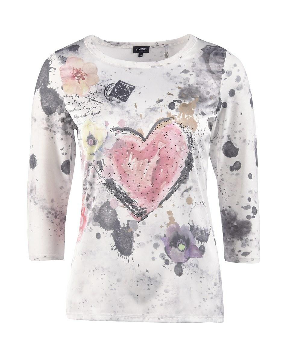 Bild 4 von Viventy - Romantisches Shirt mit Schmuckstein-Dekoration
