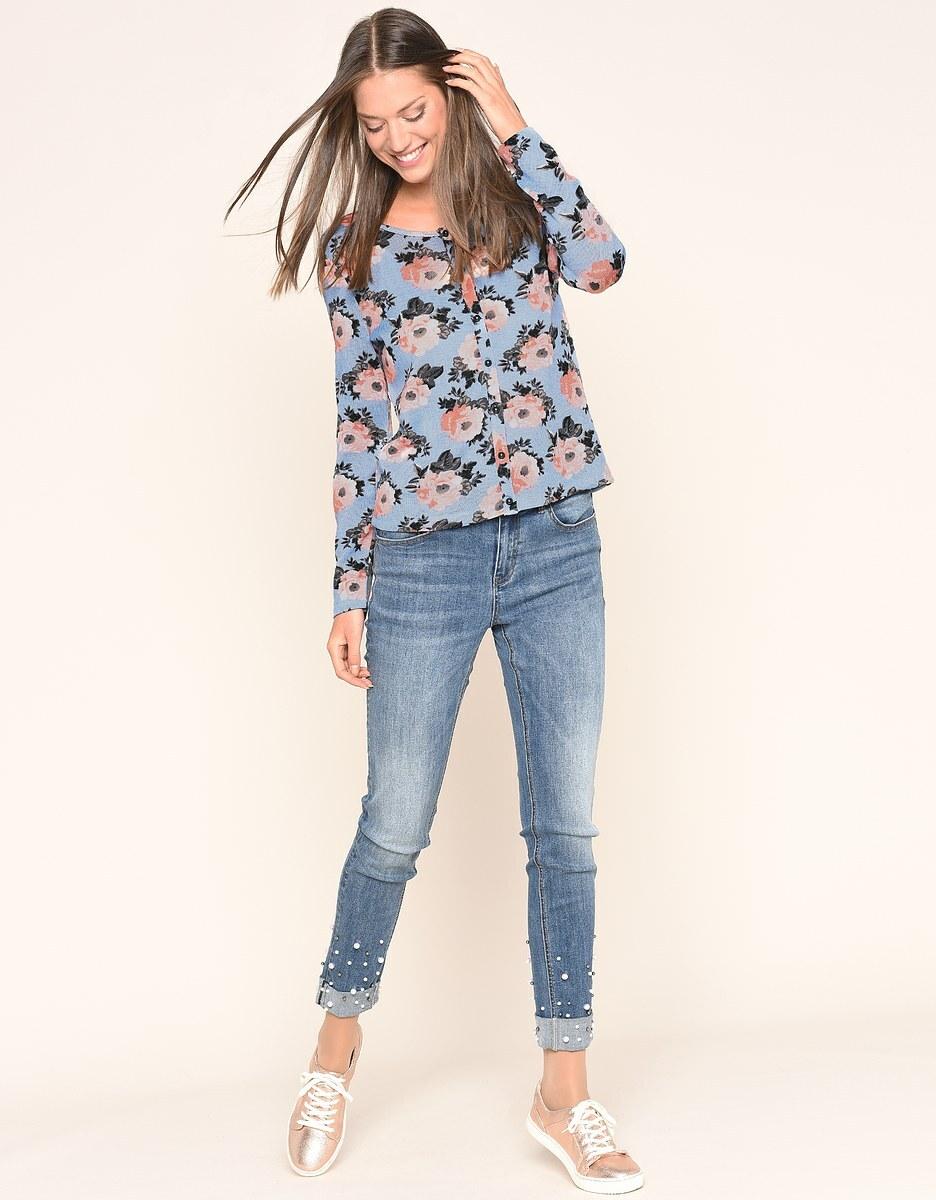 Bild 2 von My Own - Jeans mit Perlenbesatz