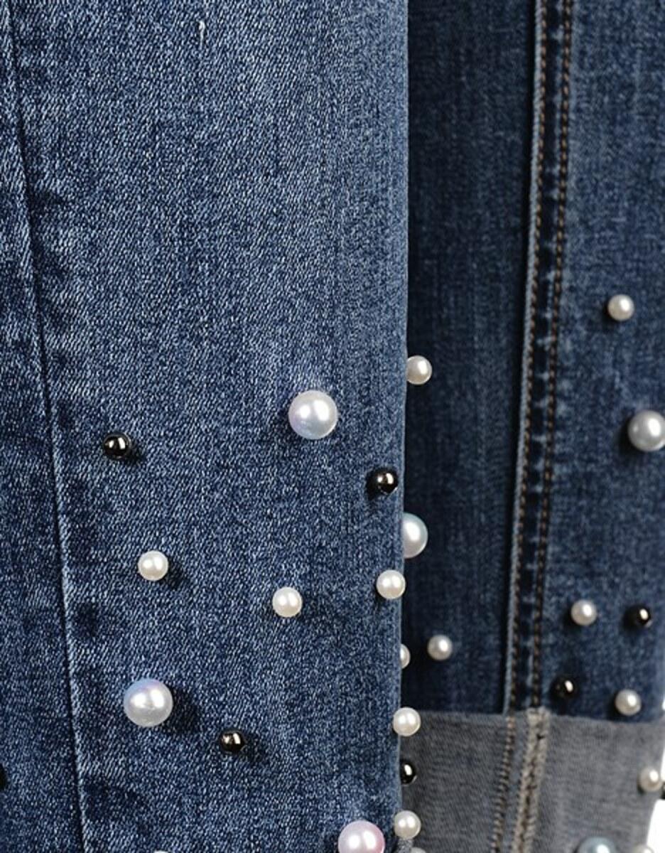 Bild 4 von My Own - Jeans mit Perlenbesatz