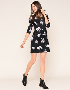 My Own - Kleid mit Rosendruck